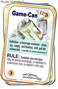 Rule Card N0. 3  Game-Can